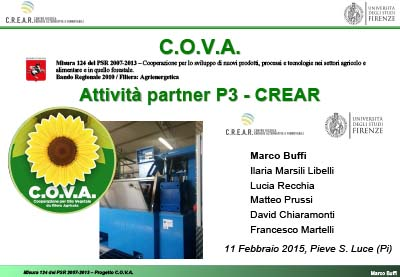 Progetto C.O.V.A.